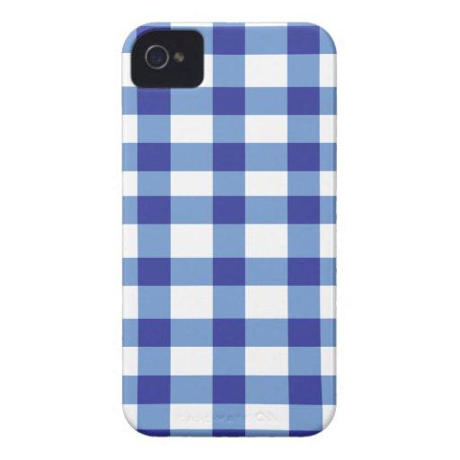 Guinga azul Case-Mate iPhone 4 fundas