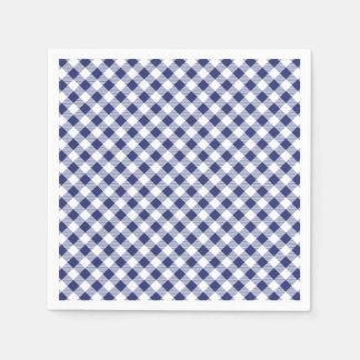 Guinga azul servilleta de papel