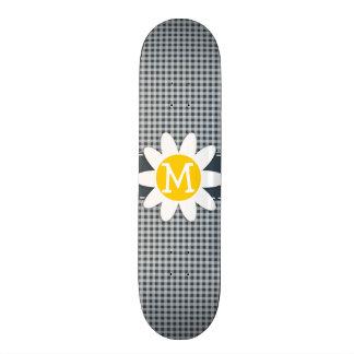 Guinga del color del carbón de leña Margarita Tabla De Skate