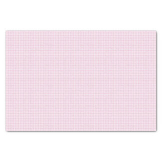 Guinga rosada y blanca papel de seda