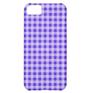 Guinga violeta azul A cuadros