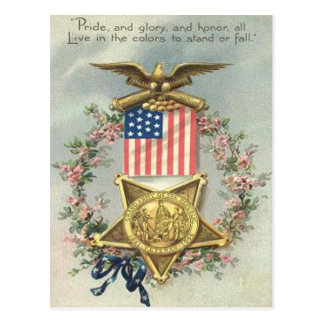 Guirnalda de Eagle de la medalla de la guerra Postal