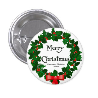 Guirnalda de las Felices Navidad Pin
