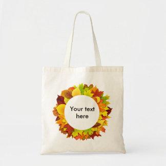 Guirnalda de las hojas de otoño