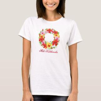 Guirnalda de Mele Kalikimaka Camiseta