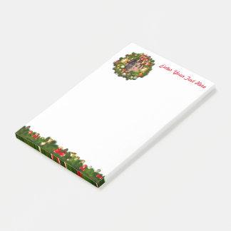 Guirnalda de Navidad modificada para requisitos Notas Post-it®