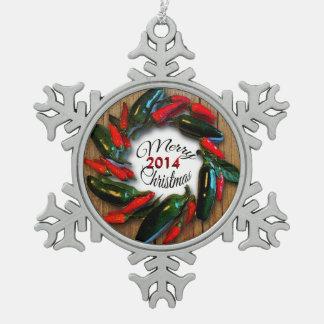 Guirnalda del pimiento picante del navidad del adorno