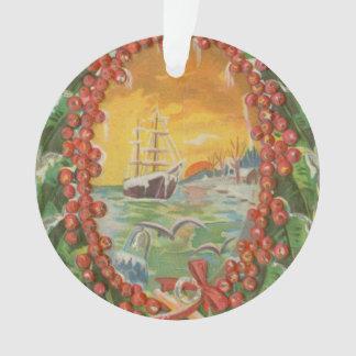 Guirnalda del velero del navidad del vintage