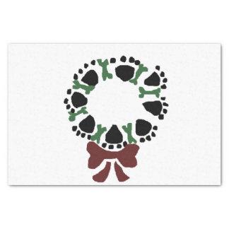 Guirnalda impresionante del navidad de las papel de seda