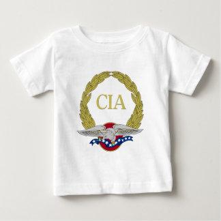 Guirnalda patriótica y Eagle de la Cia Camiseta