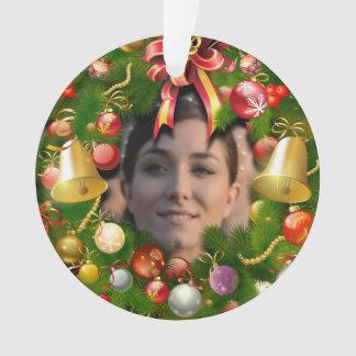 Guirnalda personalizada de Navidad
