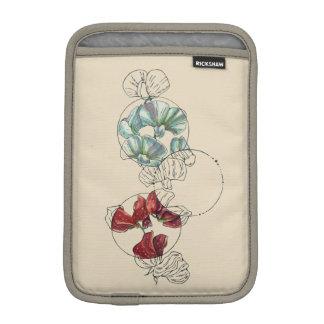 guisantes de olor funda para iPad mini