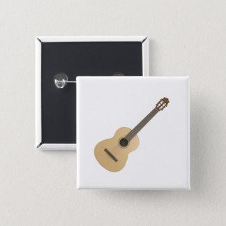 Guitarra clásica del botón cuadrado