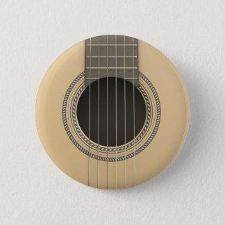 Guitarra clásica del botón redondo