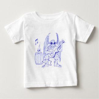 Guitarra de Cthulhu Camiseta De Bebé