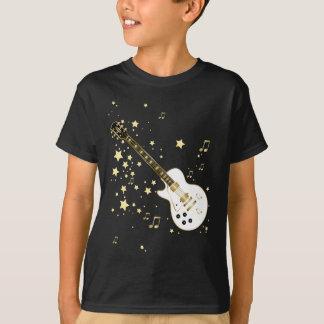 Guitarra de la estrella del rock camiseta