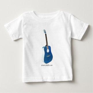 Guitarra de Strummin Camiseta De Bebé