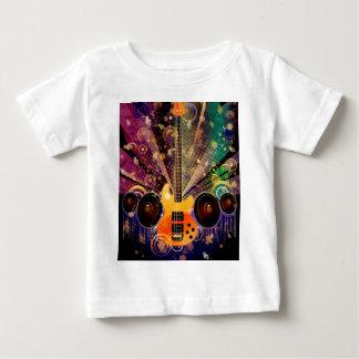 Guitarra del Grunge con los altavoces 2 Camiseta De Bebé