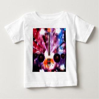Guitarra del Grunge con los altavoces 3 Camiseta De Bebé