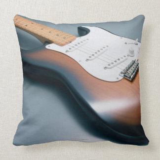 Guitarra eléctrica cojín decorativo