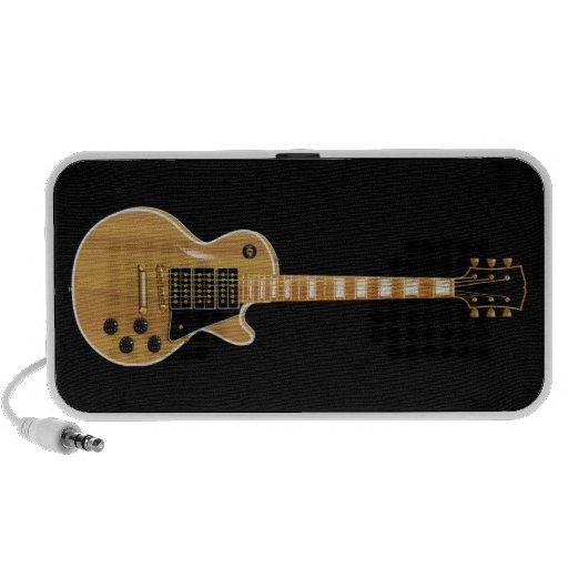 Guitarra eléctrica de LP del arce Altavoz De Viajar