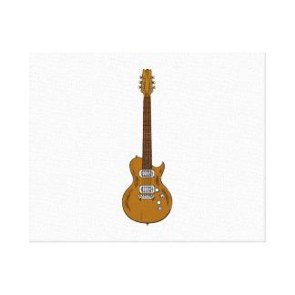 Guitarra eléctrica impresión en lienzo