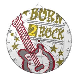 Guitarra nacida de la roca, diseño del guitarrista diana