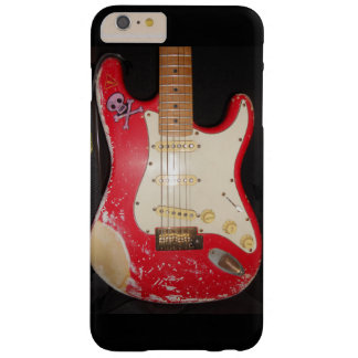 Guitarra roja funda barely there iPhone 6 plus