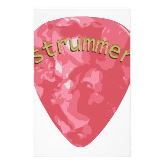 Guitarra Strummer Papeleria De Diseño
