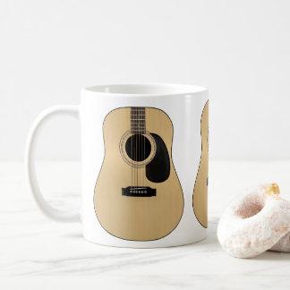 Guitarra Taza De Café