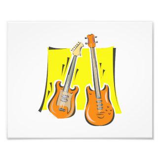 guitarra y orange png estilizado bajo fotos
