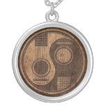 Guitarras acústicas Yin Yang con el efecto de made Pendientes Personalizados