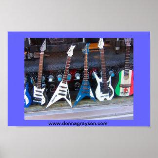 Guitarras de Hollywood Póster