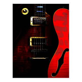 Guitarras del duelo postal