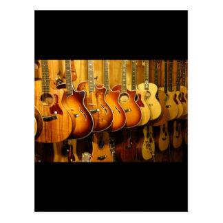 Guitarras Tarjetas Postales