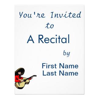 guitarrista mexicano red png invitacion personalizada