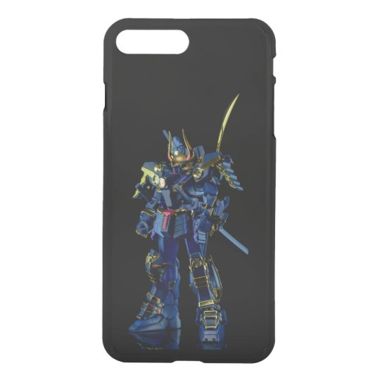 Gundam negro iPhone7 infrecuente más Clearly™ Funda Para iPhone 7 Plus