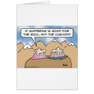 Guru cree en el sufrimiento pero se sienta en amor tarjeta de felicitación