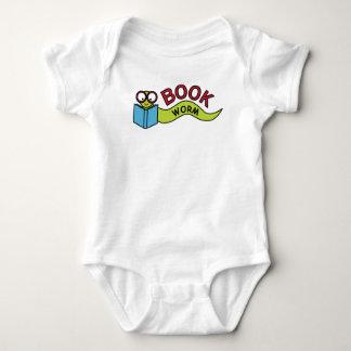 Gusano de libro body para bebé