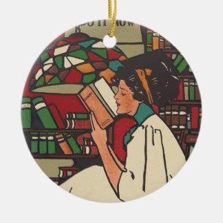 Gusano de libro de la CAMISETA Ornamento Para Reyes Magos
