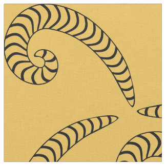 gusanos en modelo de la lona telas