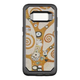 Gustavo Klimt el árbol del arte Nouveau de la vida Funda Otterbox Commuter Para Samsung Galaxy S8