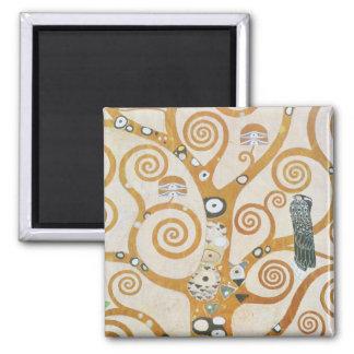 Gustavo Klimt el árbol del arte Nouveau de la vida Imán