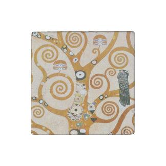 Gustavo Klimt el árbol del arte Nouveau de la vida Imán De Piedra