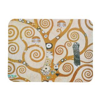 Gustavo Klimt el árbol del arte Nouveau de la vida Imán Flexible