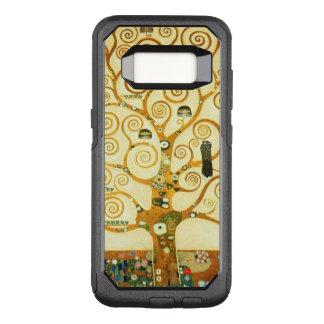 Gustavo Klimt el árbol del arte Nouveau del Funda Otterbox Commuter Para Samsung Galaxy S8