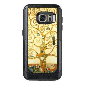Gustavo Klimt el árbol del arte Nouveau del Funda Otterbox Para Samsung Galaxy S7