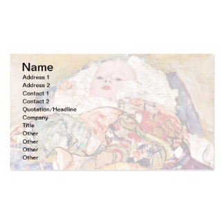 Gustavo Klimt - el bebé Tarjetas Personales