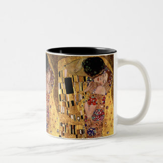 Gustavo Klimt El beso detalle Tazas De Café