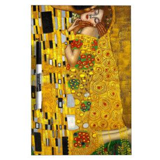 Gustavo Klimt el beso Pizarra Blanca